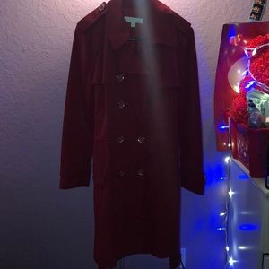New York & Company Deep Red Coat❤️